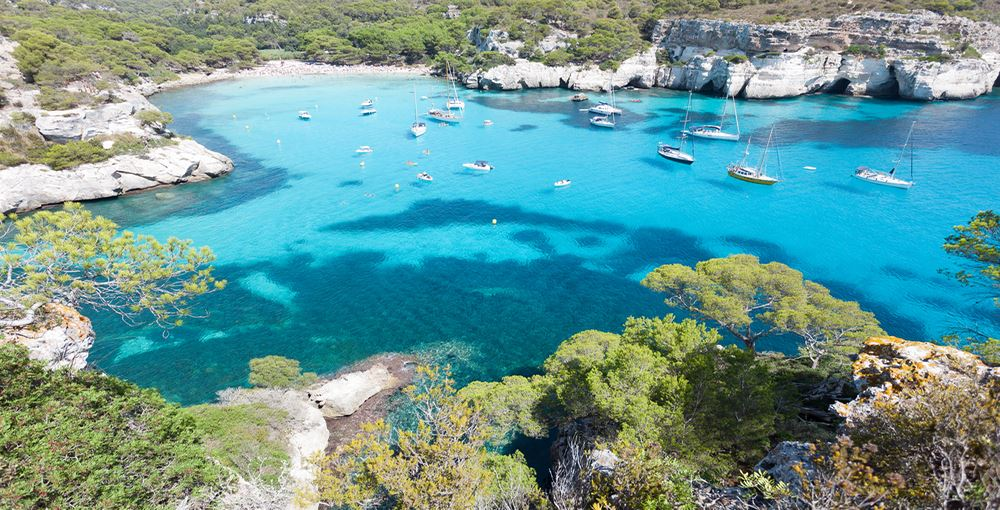 Cala Macarella and Macarelleta