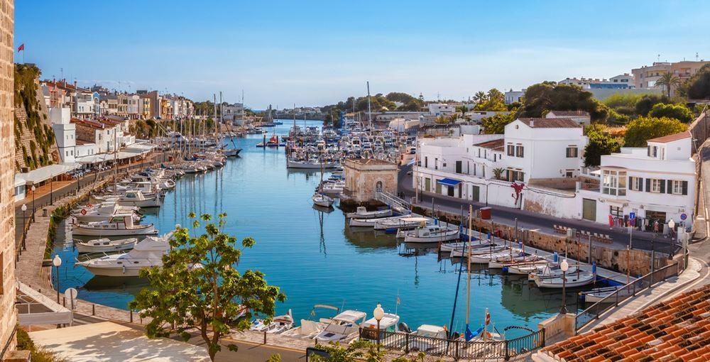 Ciutadella on Menorca