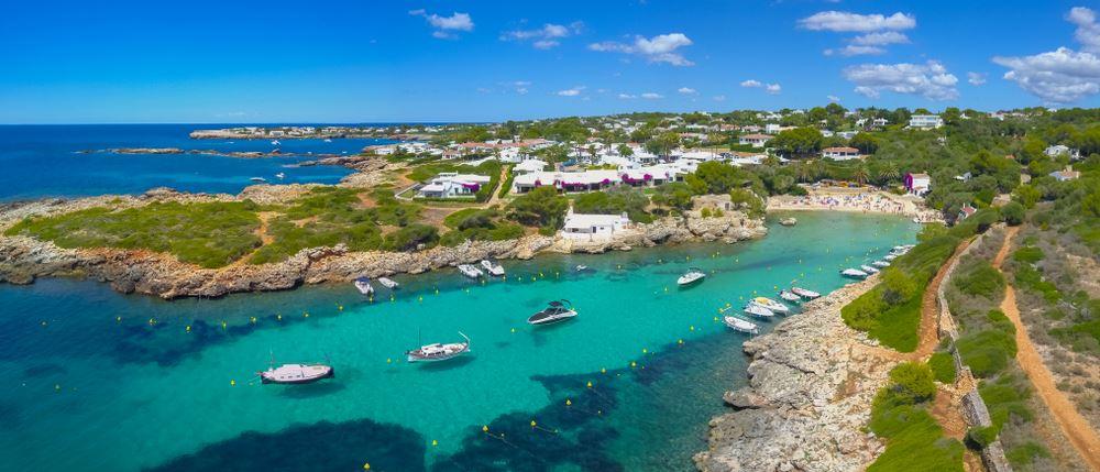 Cala en Blanes and Los Delfines in Menorca