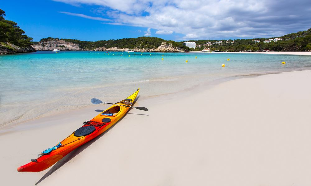 Sea Kayaking in Menorca