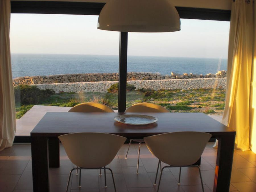Villa in Cala Morell near Ciutadella of Menorca on the northwest coast