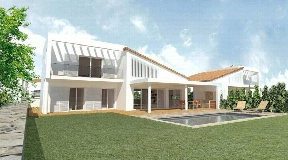 Fantastic villa in Menorca with a nice panoramic view of the sea