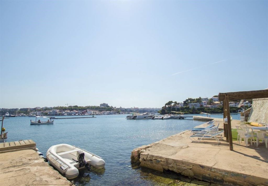 Wonderful villa overlooking the Port of Mahon with an Incredible views