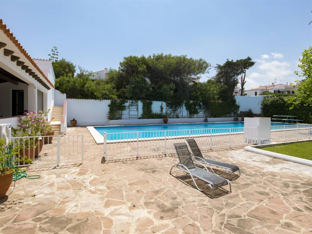 Stunning front line villa for sale in Menorca with sea view