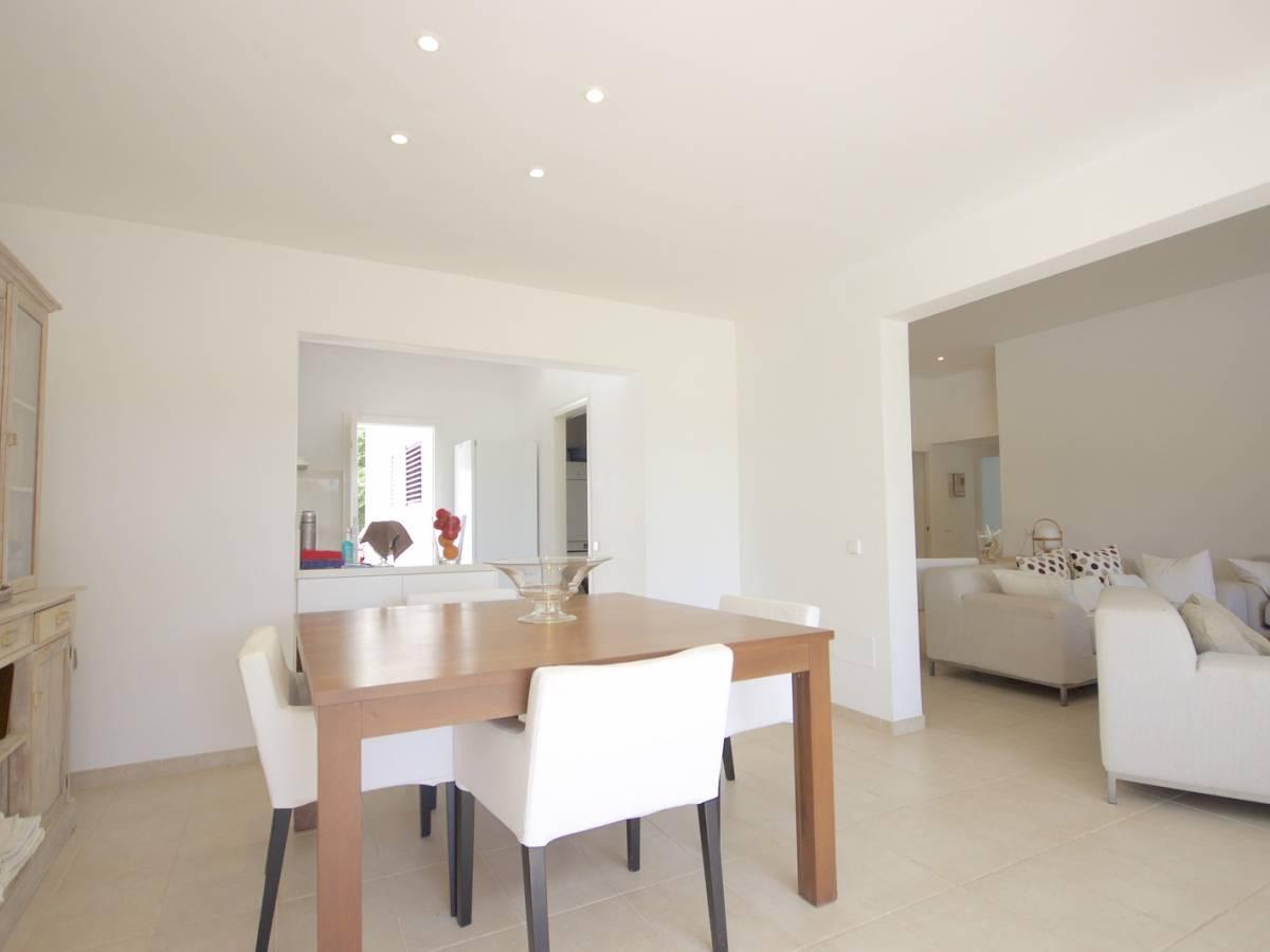 Excellent modern villa close to the golf course in Son Parc, Menorca