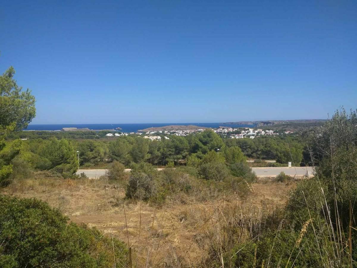 Magnificient Villa under construction in Menorca with panaromic views