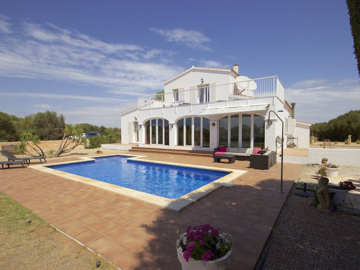 Magnificent countryside estate with beautiful landscape view of Menorca