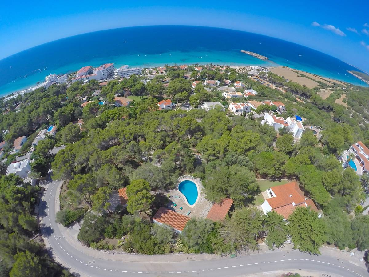 Astonishing villa for sale on south of Menorca with natural greenery