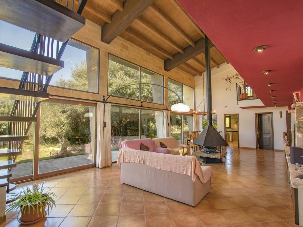 Attractive two storeyed countryside villa for sale in Mahon