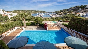 Fantastic two storey villa in Addaya's marina on Menorca