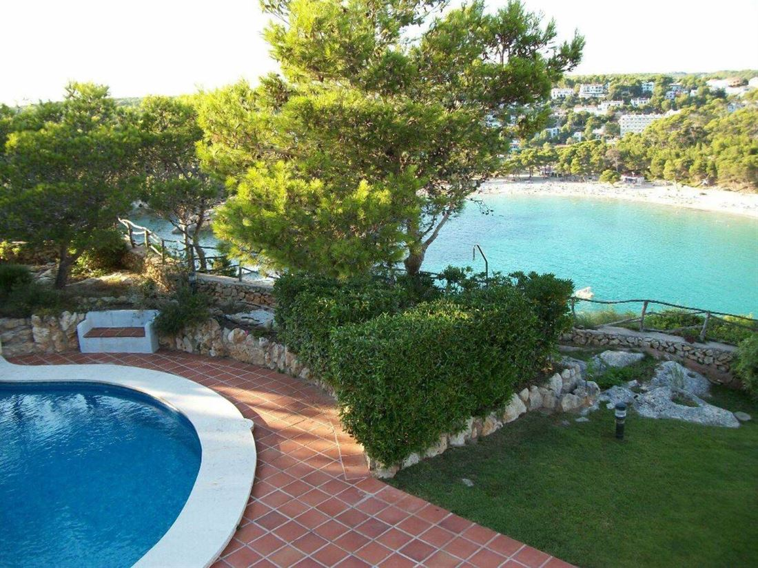 Villa in Cala Galdana in frontline with stunning sea views and large land for sale