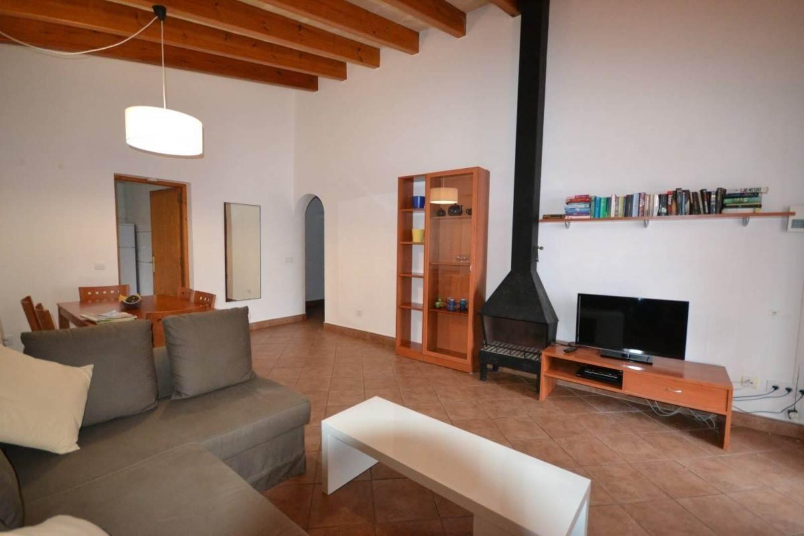 Villa in the front line to the sea in Cap-Dartruix in Menorca