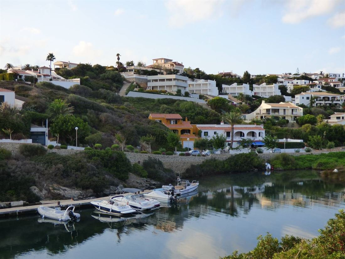 Building plot in Mahon with sea view and view over the harbour