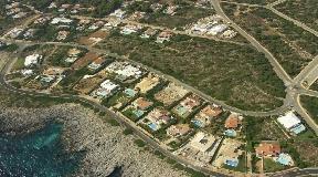 Building land with a unique sea view in Satalaya - Menorca