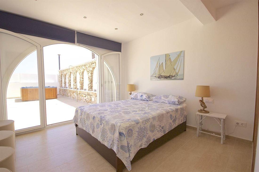 Luxury frontline villa for sale in Punta Prima on Menorca