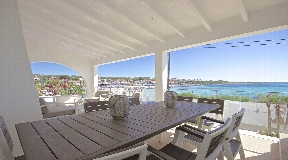 Luxury frontline villa for sale in Punta Prima on Menorca