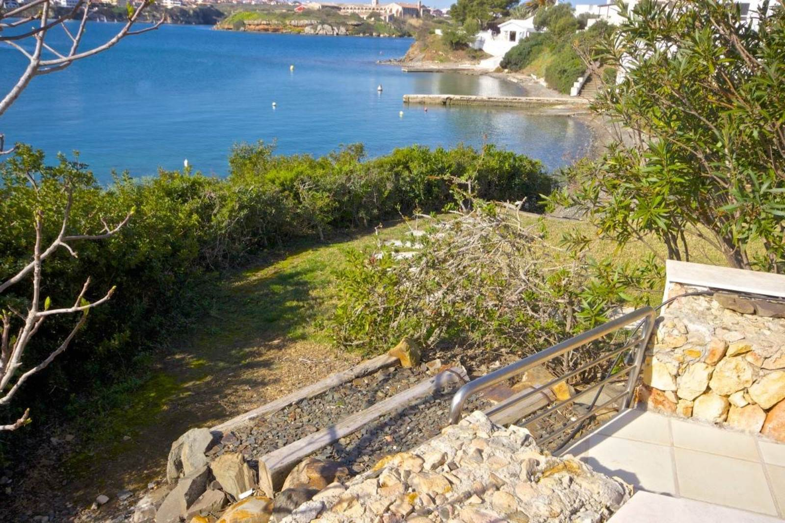 Frontline in the port of Mahon for sale with great views