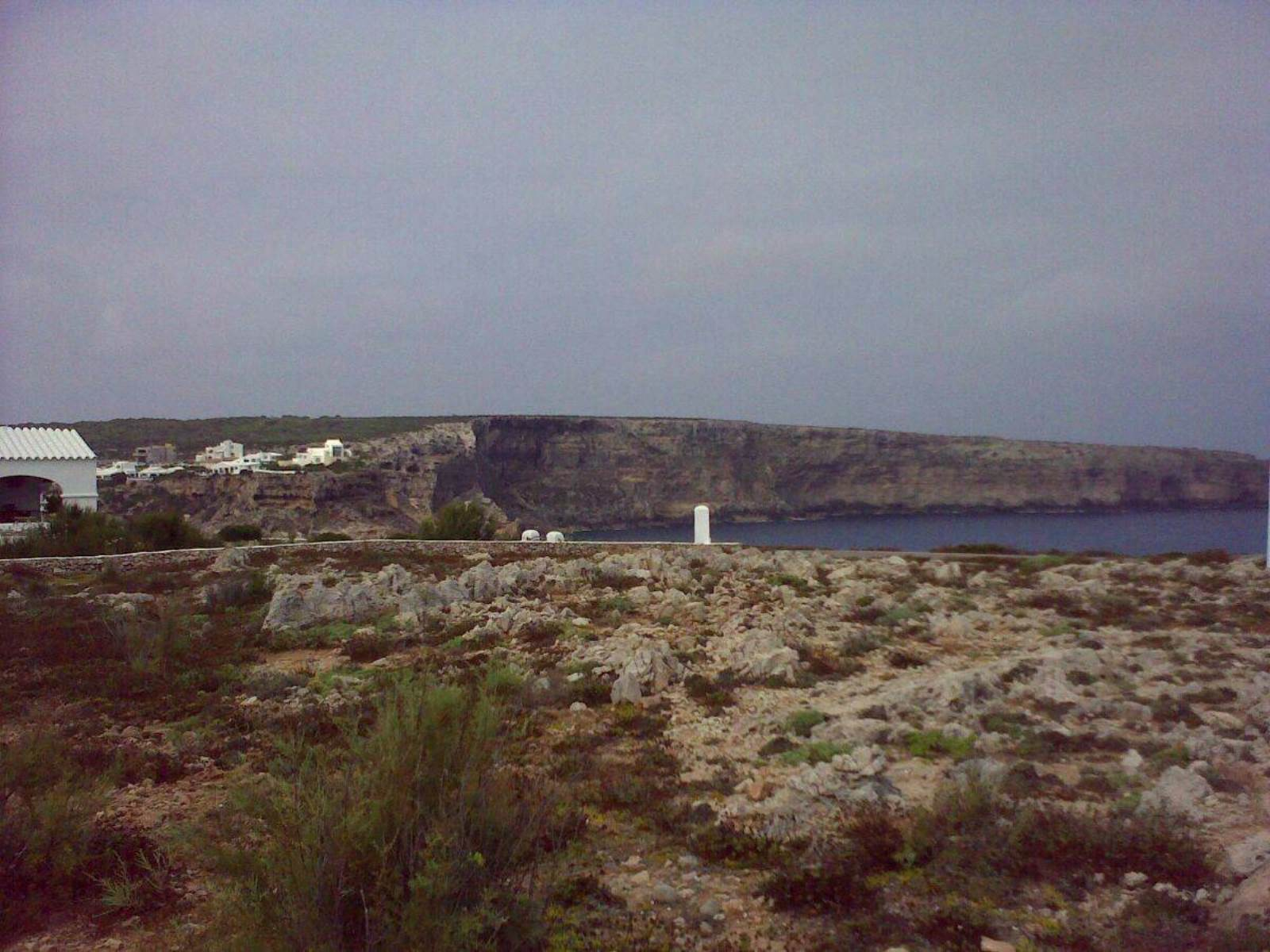 Building land in the first line to the Mediterranean Sea in Calla Morell