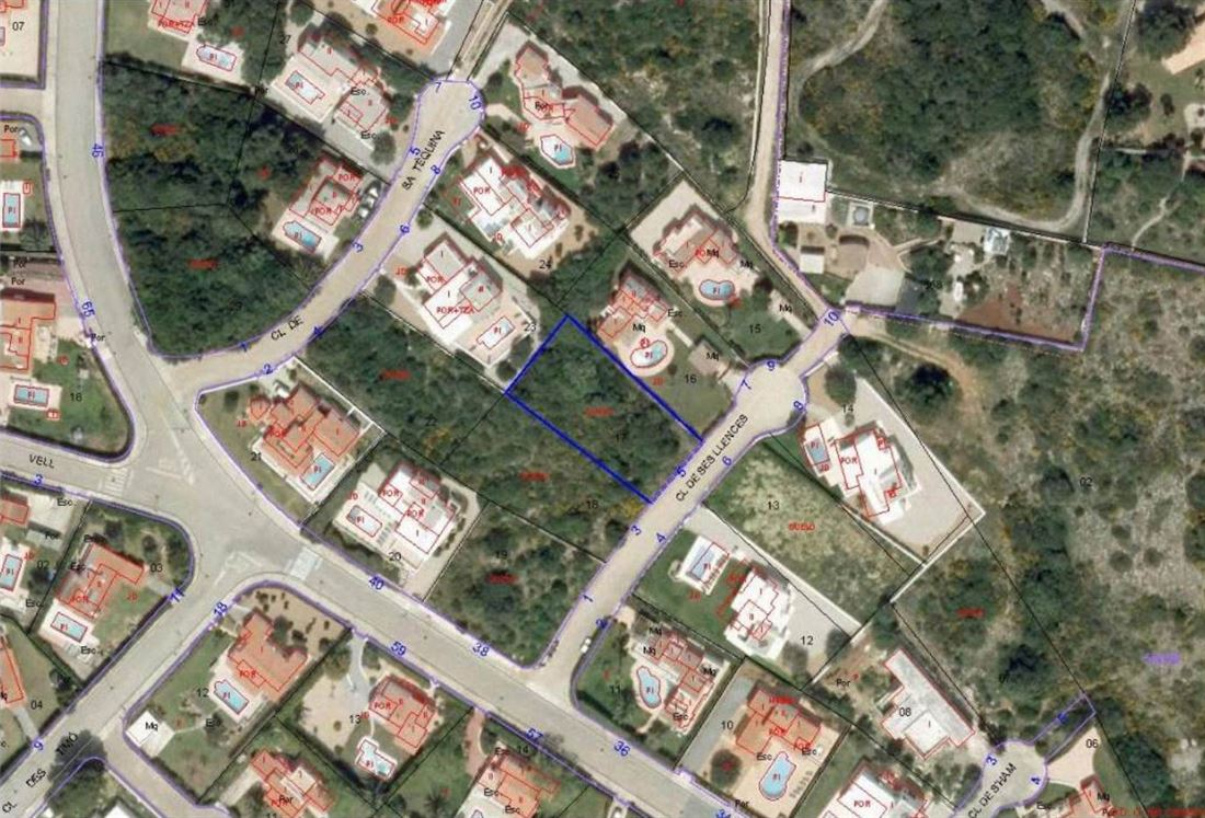 Building land in Binibeca Vel with permission for the construction of a two-storey villa
