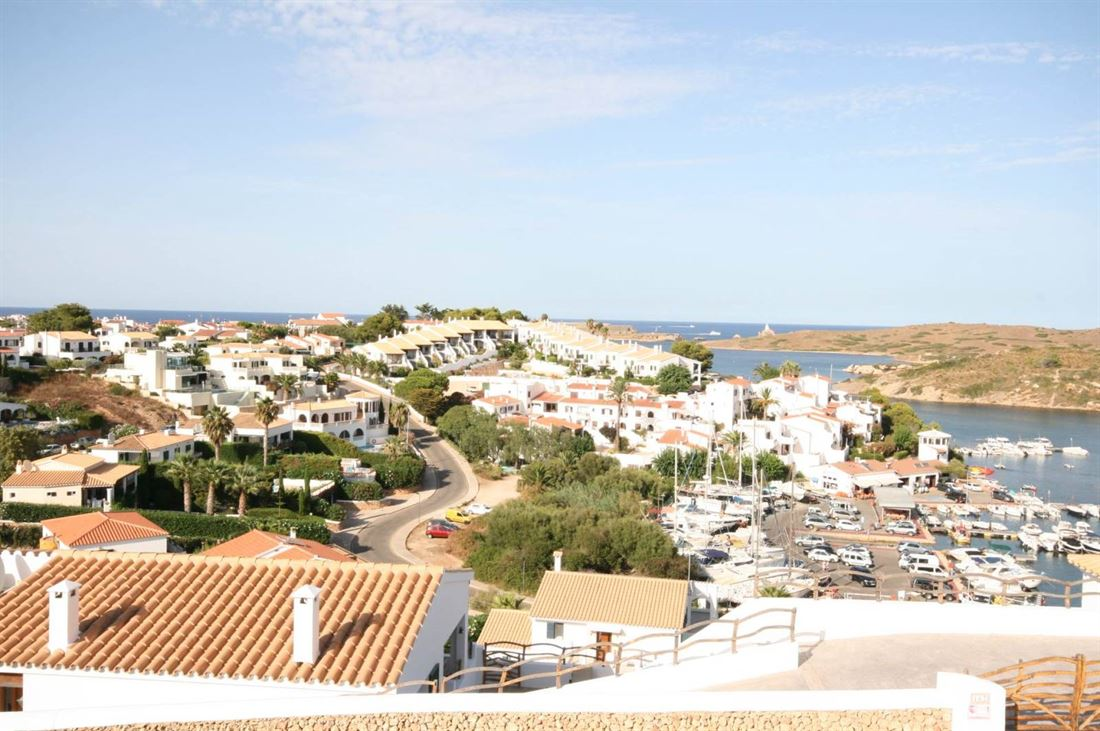 Plot for a beautiful house in central location of Addaia on Menorca