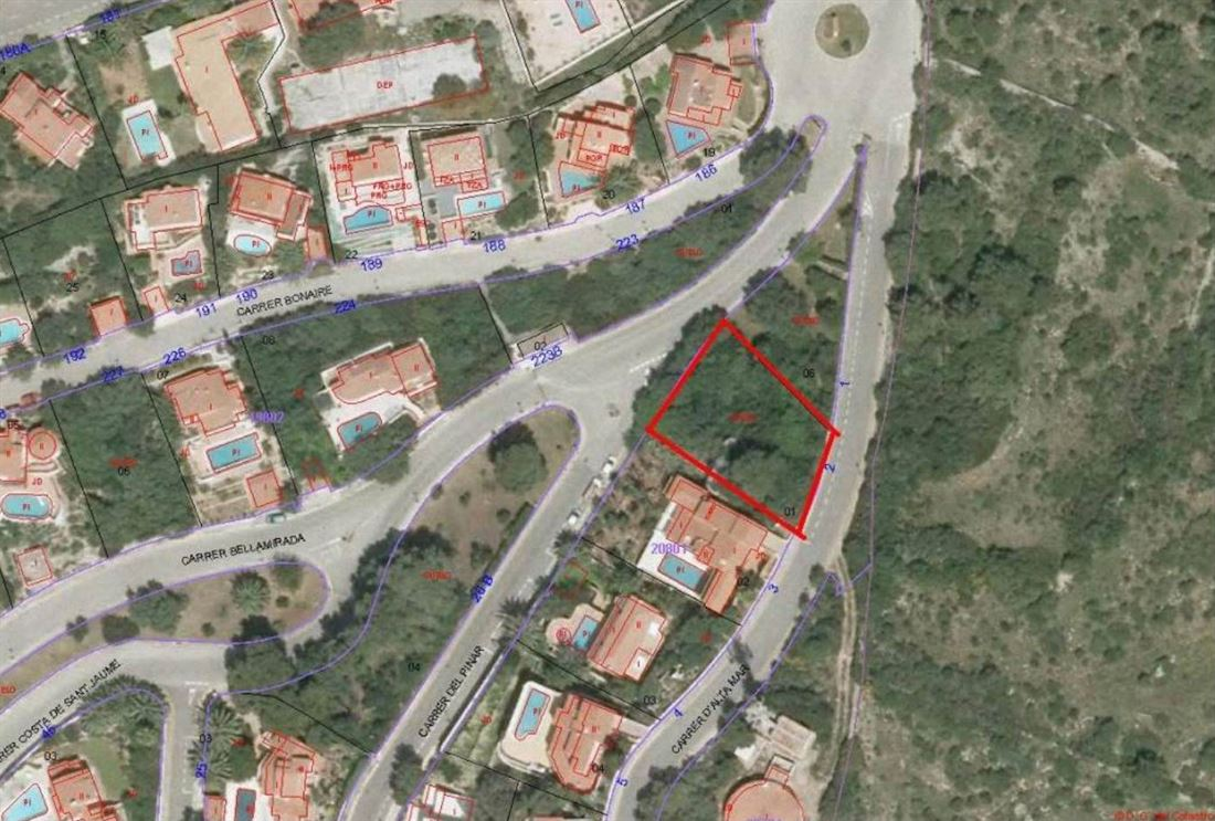 Plot of land in Atalis on Menorca - Santo Tomas for sale