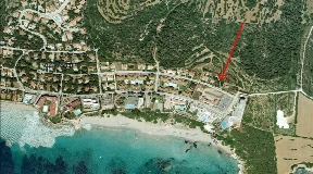 Building plot in a popular residential area on Menorca in Santo Tomas