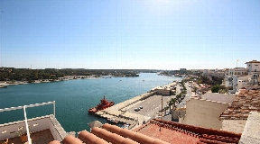 Nice house in Menorca with view on the port of Mahon for sale