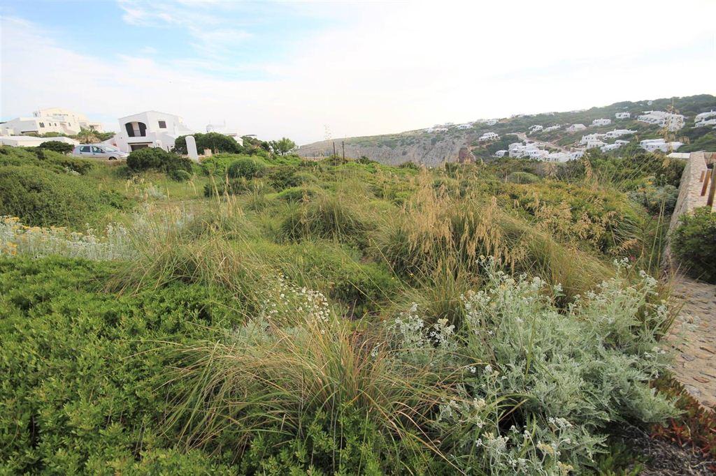 Building plot with view on the Mediterranean Sea in Cala Morell Ciutadella Menorca