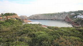 Building plot with view on the Mediterranean Sea in Cala Morell Ciutadella Menorca