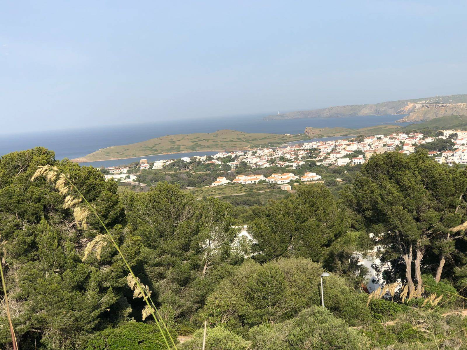 Land in Coves Noves in Menorca with sea views for sale