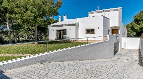Unbelievable detached villas near Cala Morell