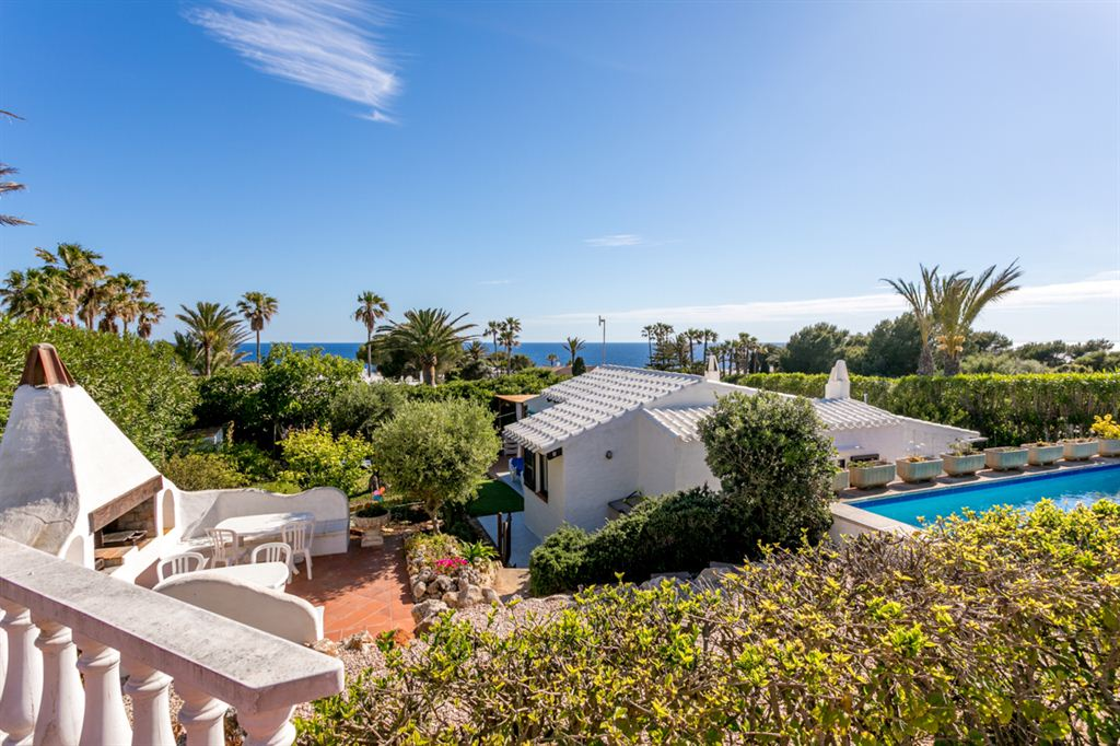 Amazing plot 2 separate villas with pool and magnificent sea views of Bindali