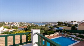 Viewable villa for sale with superb views of the port of Mahón