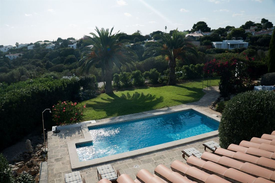 Wonderful villa for sale with sea views in Binibeca