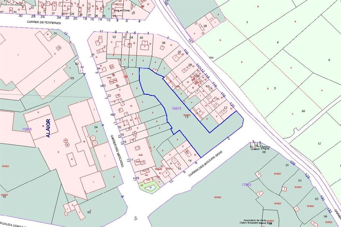 Large developable land with many possibilities in the south of Alaior