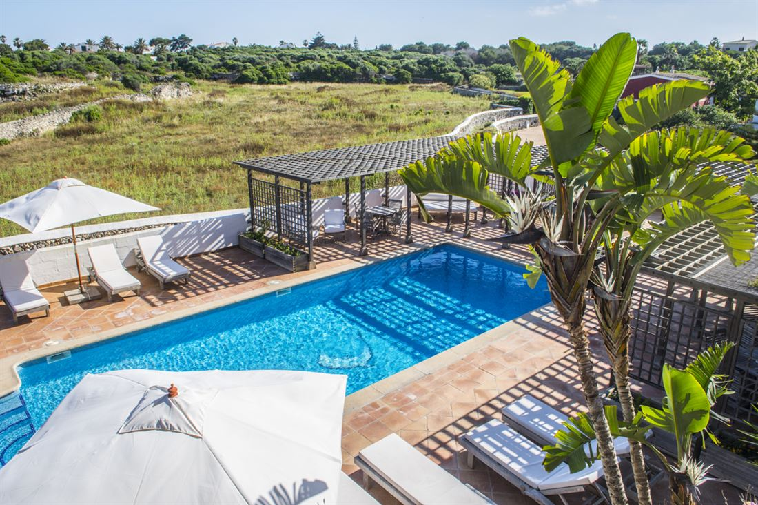 Beautiful country house / hotel near Es Castell with sea views and lots of charm - buy